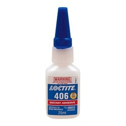 Chemical Grade Loctite 406 Instant Adhesive, Packaging Size: 25mL