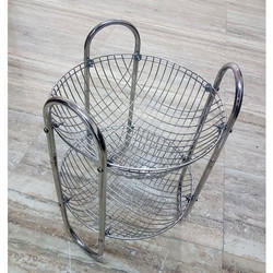 2 Tier Stainless Steel Vegetable Basket