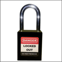 Safety House Mild Steel Dielectric Lockout Padlock, Paint Coated