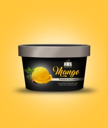 Mango Ice Cream, Packaging Size: 4 Litter, Packaging Type: Box