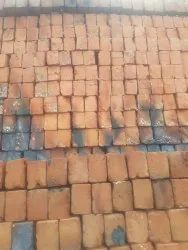 Rectangular Ash And Soil Mix Red Bricks, For Side Wall, Size: 3*4*9 Inches