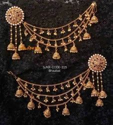 Traditional Earring with kan chain