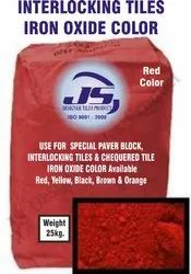 interlocking Tile Iron Oxide Pigment