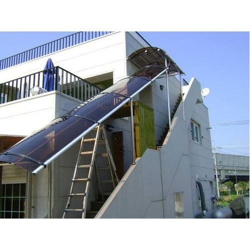 Tunnel Outdoor Staircase Roofing Shed Rs 310 Square Feet Poly Projects Id 20975141555