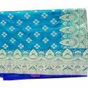 Zari Border Ladies Stylish Party Wear Saree, 6 M (with Blouse Piece)