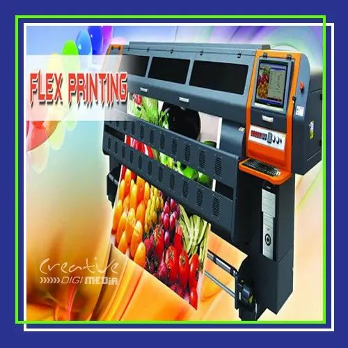 Automatic Vinyl Flex Printing, in Noida, Industry Application: Advertising
