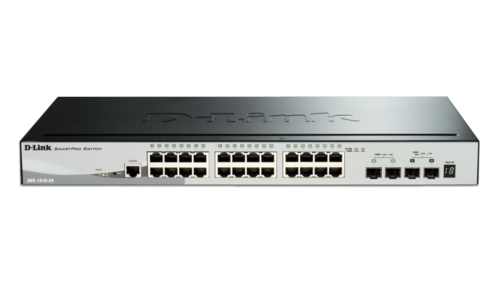 24 Port Gigabit Stackable Smart Managed Switch With 2 Sfp And 2 10gbe Sfp  Ports