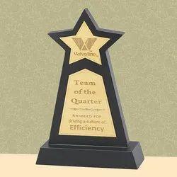 PI 18-320 Star Wooden Trophy