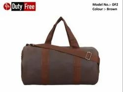 Brown Gym Bag