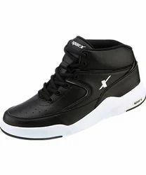 Canvas Sparx Black Ankle Shoe