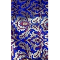 Purple Embroidery Kamkhwab Work