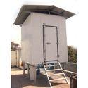 Steel Prefabricated Telecom Shelter, Use: Kiosk
