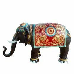 EL04 Fiberglass Elephant