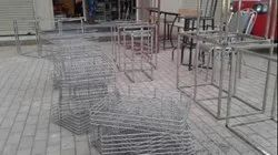 3-4 Feet Stainless Steel Fabrication Trolley, For Material Handling, Load Capacity: 10-30 Kg