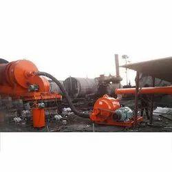 Asphalt Coal Burner