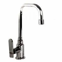 Brass Pillar Tap, for Bathroom Fitting, Size: 15 mm (Input), 10 mm (Output)