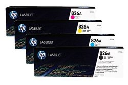 HP Original 826 Full Set Of Toner Cartridge