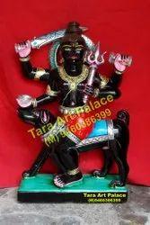 Black Marble Kal Bhairav Moorti