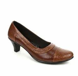 Senorita Brown Women's Brown Formal Ballerina Shoes (lok-109), Size: 36, 37, 38, 39, 40