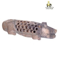 Crocodile Garden Stone Statue