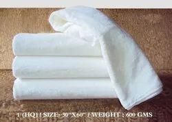 Plain Hotel Bath Towel