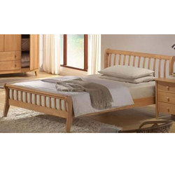 Teak Wood Single Bed