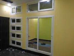 White French Sliding Door