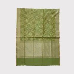 Light Green Chanderi Silk Saree