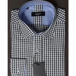 Cotton Collar Neck Giant Mens Formal Shirt, Size: 36-44