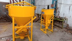Hindustan Enterprises Tower Crane Controlled System Concrete Bucket Cap. 1.000 Cu.M.