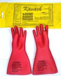 Kavach Electrical Safety Hand Gloves 33 KVA