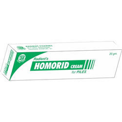 Homorid Piles Cream, Packing Size: 20 gm