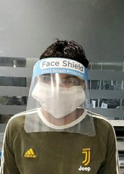 Full Face Protection Shield