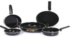 Milton Nova Black 5 Pc Set Cookware Set