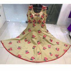 Floral Embroidered Anarkali Suit