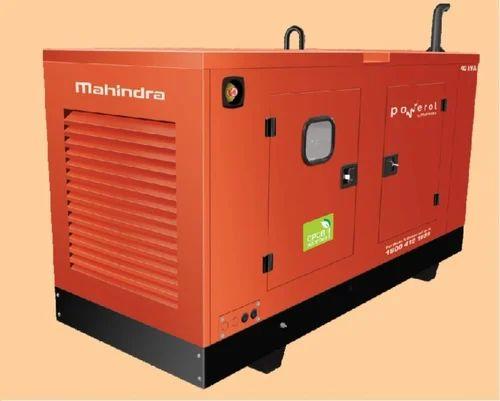 10 Kva Silent Mahindra Powerol Diesel Generator Voltage 415 V Rs 255000 Piece Id 18942611273