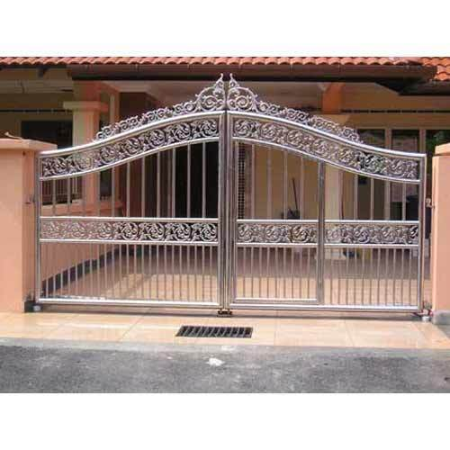 Designer Stainless Steel Swing Gate