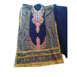 Unstitched Stylish Embroidered Salwar Suit