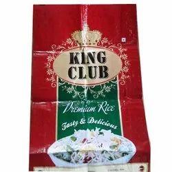 Premium Rice Flexo Printed Bag