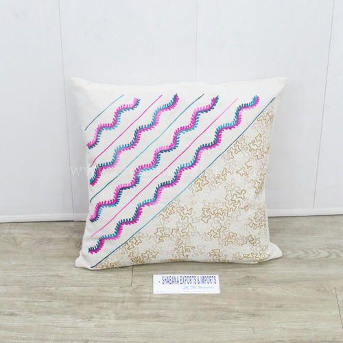 Cotton Embroidered Designer Cushion Covers Bulk Custom Throw Couch Cushions 40dba316d04b