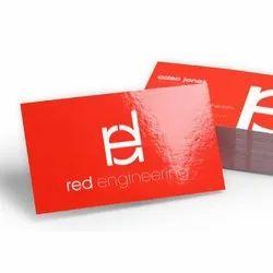 Gloss Lamination Front & Back Visiting Cards