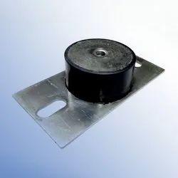 Black NR KPM Isolation Vibration Mount