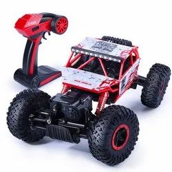 Rock Crawler 4 Wd Rc - Rally Car (1:18 Scale) ( Assorted Colors)