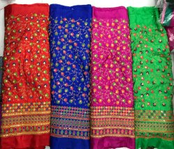 Banarashi Silk Daman Embroidery