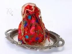 Stylish Red Gifted Potli