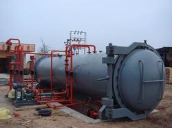Vacuum Pressure Wood Treatment Plant