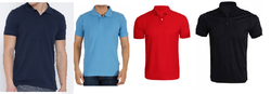 Alam TCC Cotton Plain Polo T Shirt, Packaging Type: Bags