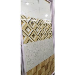 Glossy Designer Ceramic Floor Tiles, For Wall, 600 mm x 600 mm