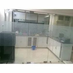 Toughened Door Glass Partition Panel