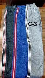 Ladies Side Stripe Cotton Lower
